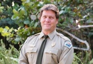 David Dearth, Park Manager at Hugh Taylor Birch State Park
