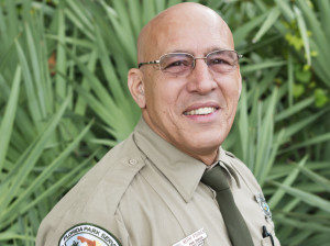 Keith Poirier Park Ranger at Hugh Taylor Birch State Park