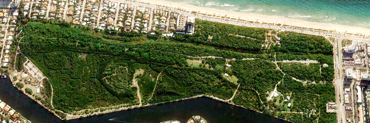 Hugh Taylor Birch State Park Aerial View