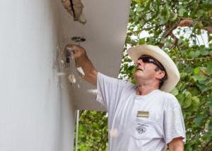 construction volunteer