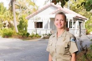 Jennifer Roberts, Assistant Park Manager at Hugh Taylor Birch State Park