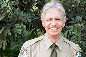 Ronny Glisson OPS Park Ranger at Hugh Taylor Birch State Park