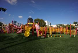 Childrens Playground at Hugh Taylor Birch State Park