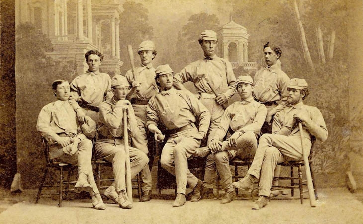 Hugh Taylor Birch at Antioch College, Baseball Club