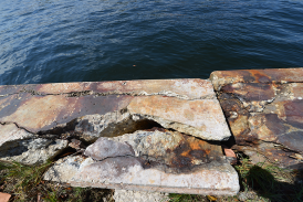 Sea-Wall-Restoration at Hugh Taylor Birch State Park