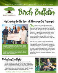 Friends of Birch State Park, April 2016, Birch Bulletin!