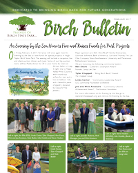 Friends of Birch State Park, February 2017, Birch Bulletin!