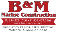 B&M Marine Construction, Friends of Birch State Park Event Sponsor