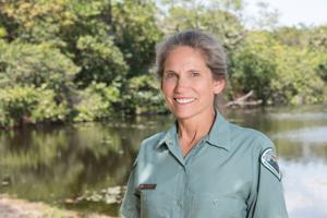 Jackie Anderson, Park Ranger, Hugh Taylor Birch State Park