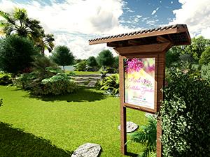 Marti's Meditation Garden Rendering