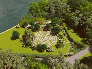 Martis Meditation Garden Rendering