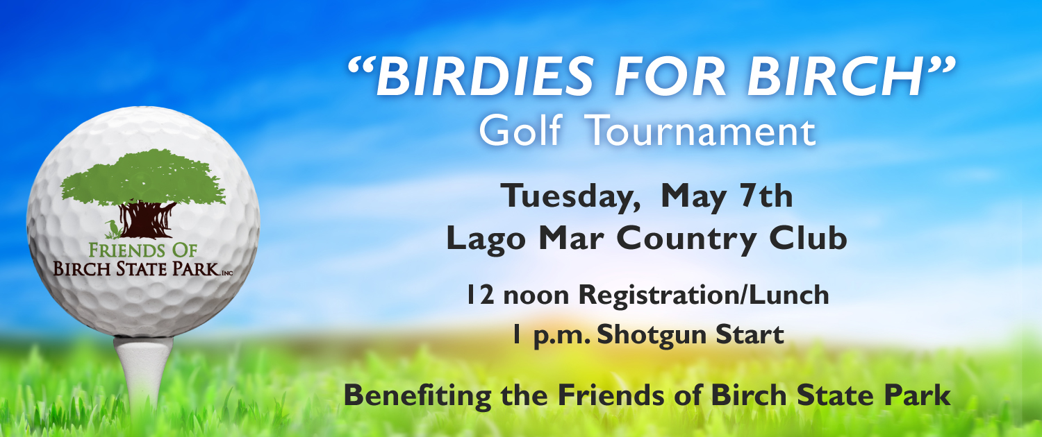 Birdies for Birch Benefiting Friends of Birch State Park