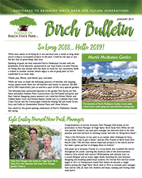 Friends of Birch State Park, January 2019, Birch Bulletin!