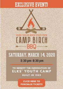 Exclusive Event! Camp Birch BBQ!