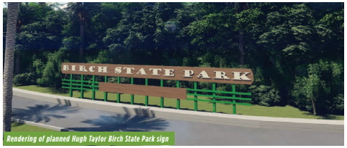 Proposed Birch State Park sign