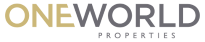 White Ibis Sponsor One World Properties logo
