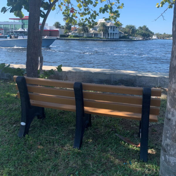 Intracoastal Waterway View - Bench Campaign at Hugh Taylor Birch State Park