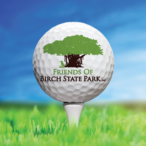 Birdies For Birch Golf Ball