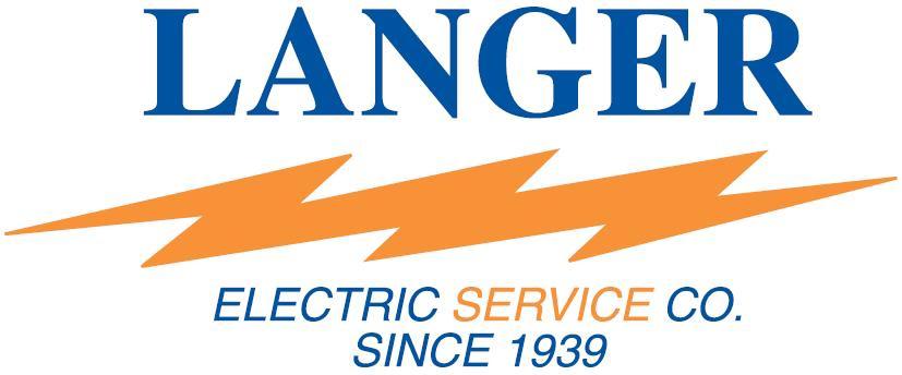 Langer Electric logo